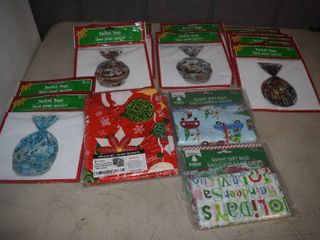 Christmas Basket Bags and Giant Gift Bags