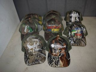 10 Ball Caps