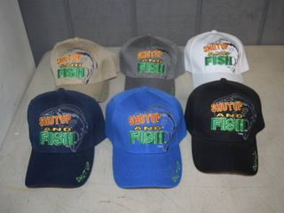 7 Ball Caps   Heavy Caps with Velcro Closure
