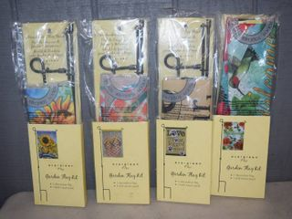 4 Evergreen Garden Flag Kits