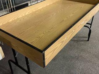 Merchandise Bin   Foldable legs for Storage   5 Feet Wide by 30  6  Deep  33  Tall