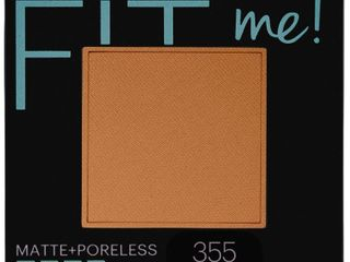 Maybelline Fit Me Matte Poreless Pressed Face Powder   355 Coconut   0 29oz