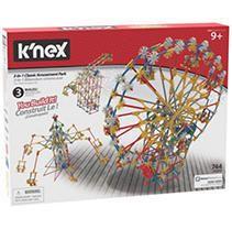 K Nex Thrill Rides 3 in 1 Classic Amusement Park Building Set