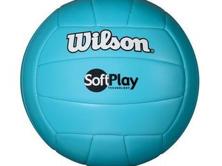 Wilson Outdoor Soft Play Volleyball  Blue