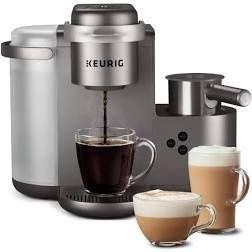 Keurig K cafe Special Edition Coffee Maker  Single Serve K cup Pod Nickel