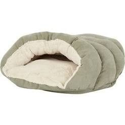 Ethical Pet Sleep Zone Cuddle Cave Cat   Dog Bed  22 in  Sage