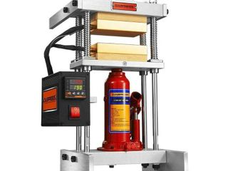 DABPress 4 Ton Starter Heat Press Machine with Dual 3x5  Heated Plates