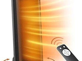 Space Heater  TaoTronics PTC 1500W Fast Quiet Heating Ceramic Tower Heater Oscillating Portable Heater