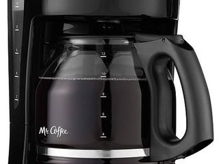 Mr  Coffee Simple Brew 12 Cup Switch Coffee Maker Black
