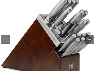Henckels International 20 Piece Modernist Self Sharpening Knife Set