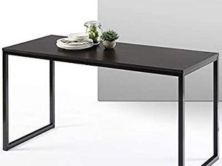 Zinus Jennifer Modern Studio Collection Soho Rectangular Dining Table   Deep Espresso