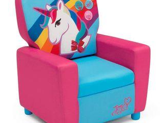 JoJo Siwa Kids  High Back Upholstered Chair   Delta Children
