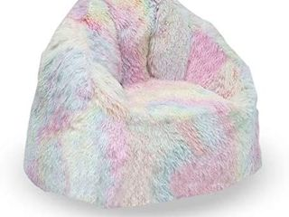Delta Children Snuggle Foam Filled Chair  Kid Size  for Kids Up to 10 Year Old  Tie Dye