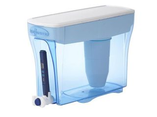 ZeroWater 30 Cup Ready Pour Water Filtering Dispenser with Free Water Quality Meter