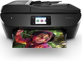 HP ENVY Photo 7855 All in One Photo Printer with Wireless Printing  HP Instant Ink ready  Works with Alexa  K7R96A