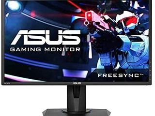 Asus VG245 24 inchFull HD 1080p 1ms Dual HDMI Eye Care Console Gaming Monitor with FreeSync Adaptive Sync  Black  24 inch
