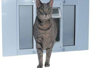 Ideal Pet Products Sash Chubby Kat Medium Pet Door  27 to 32 Inch