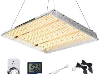 MARS HYDRO TSW 2000W led Grow light 3x3 4x4ft Coverage Full Spectrum Growing lamps for Indoor Plants Daisy Chain Dimmable Veg Bloom light for Hydroponics Greenhouse Indoor lED Grow with 684pcs lEDs   MISSING TIMER AND THERMOMETER