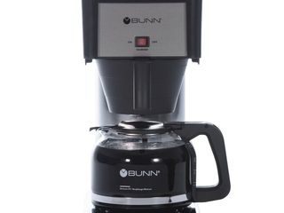 BUNN BXB Speed Brew Coffee Maker  Stainless Steel  10 Cup  38300 0066  MISSING CARAFE