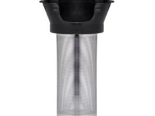 used Chefman Cordless Glass Electric Kettle With Bonus Tea Infuser