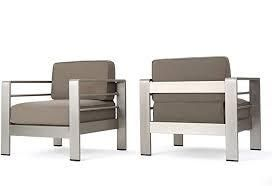 Cape Coral Outdoor 2 seater Chair Set