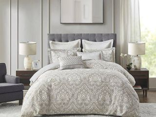 Madison Park Signature Manor 8 Piece Queen Comforter Set Bedding