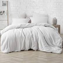 Porch   Den Arlinridge Farmhouse White Comforter   Queen