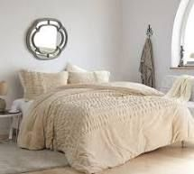 Sorry  Not Sorry   Coma Inducer Oversized King Comforter   Angora
