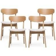 Idalia Mid Century Modern Dining Chairs  Set of 4