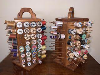 2 Swivel Thread Holders