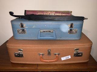 Vinage Suitcases   Umbrellas