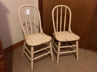 2   Child s chairs