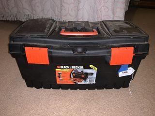 Black   Decker 22  tool box and jewelry
