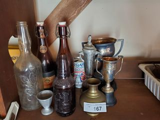 Vintage Bottles   Trophies