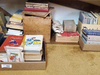 Vintage Books and Repair Manuals