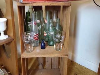Vintage Coca Cola Crate  Bottles  Homer Box