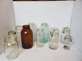 Mason Jars  Glassware  etc