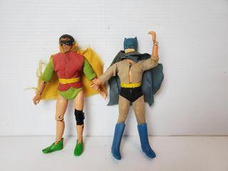 Vintage 1960 s Batman   Robin Action Figures