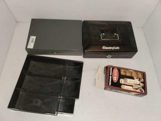 Sentry lock Boxes   Coin Sleeves