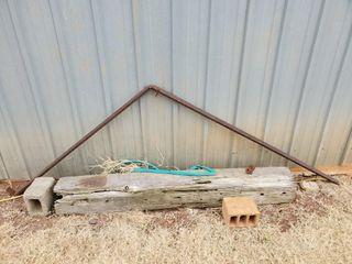 Angle Iron  Brick  Wood Block
