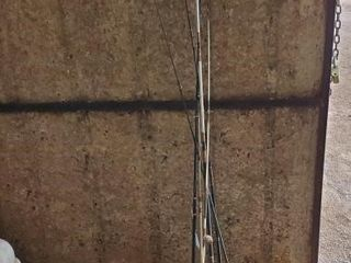 6  Assorted Fishing Poles