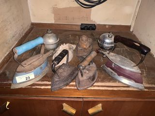 Vintage Clothing Irons