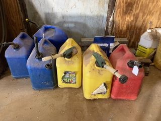 Assorted Gas   Diesel Cans