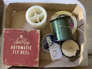Sport King Fly Reel  Fishing line