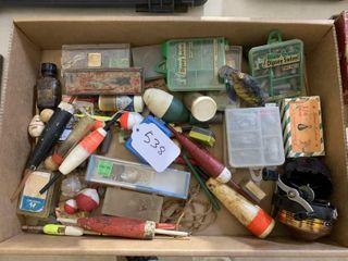 Pork Ring Minnow Box  Tackle Fishing Supplies