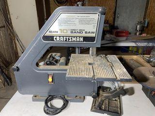 Craftsman 10  Band Saw