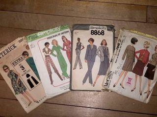 Vintage Clothing Patterns
