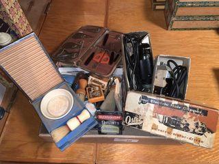 Vintage Shaving   Grooming Items