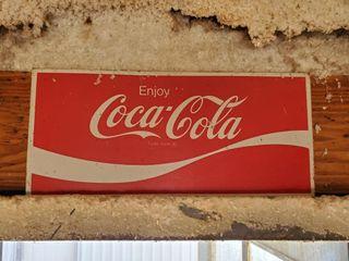 10  x 22  Coca Cola Sign