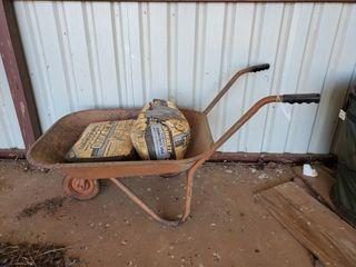 Wheelbarrow   Quikrete